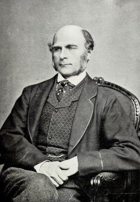 Francis Galton Seated